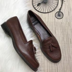 Westies Vintage Brown Tassle Loafers